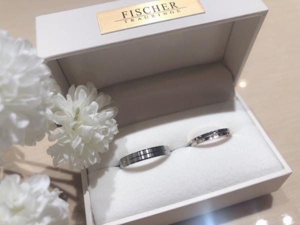 【大阪】FISCHERとNINA RICCIの結婚指輪